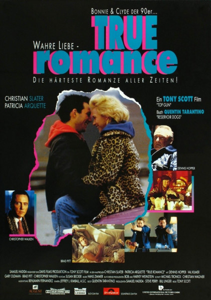 True romance movie art